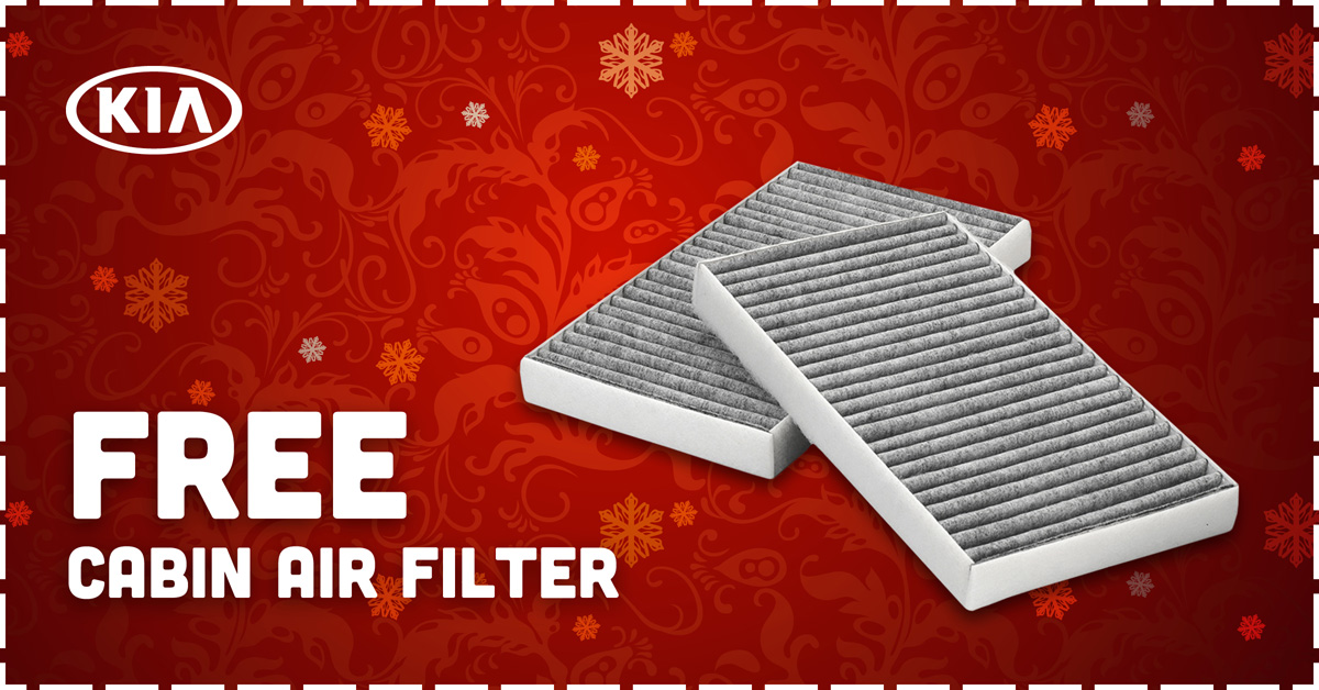 FREE Cabin Air Filter
