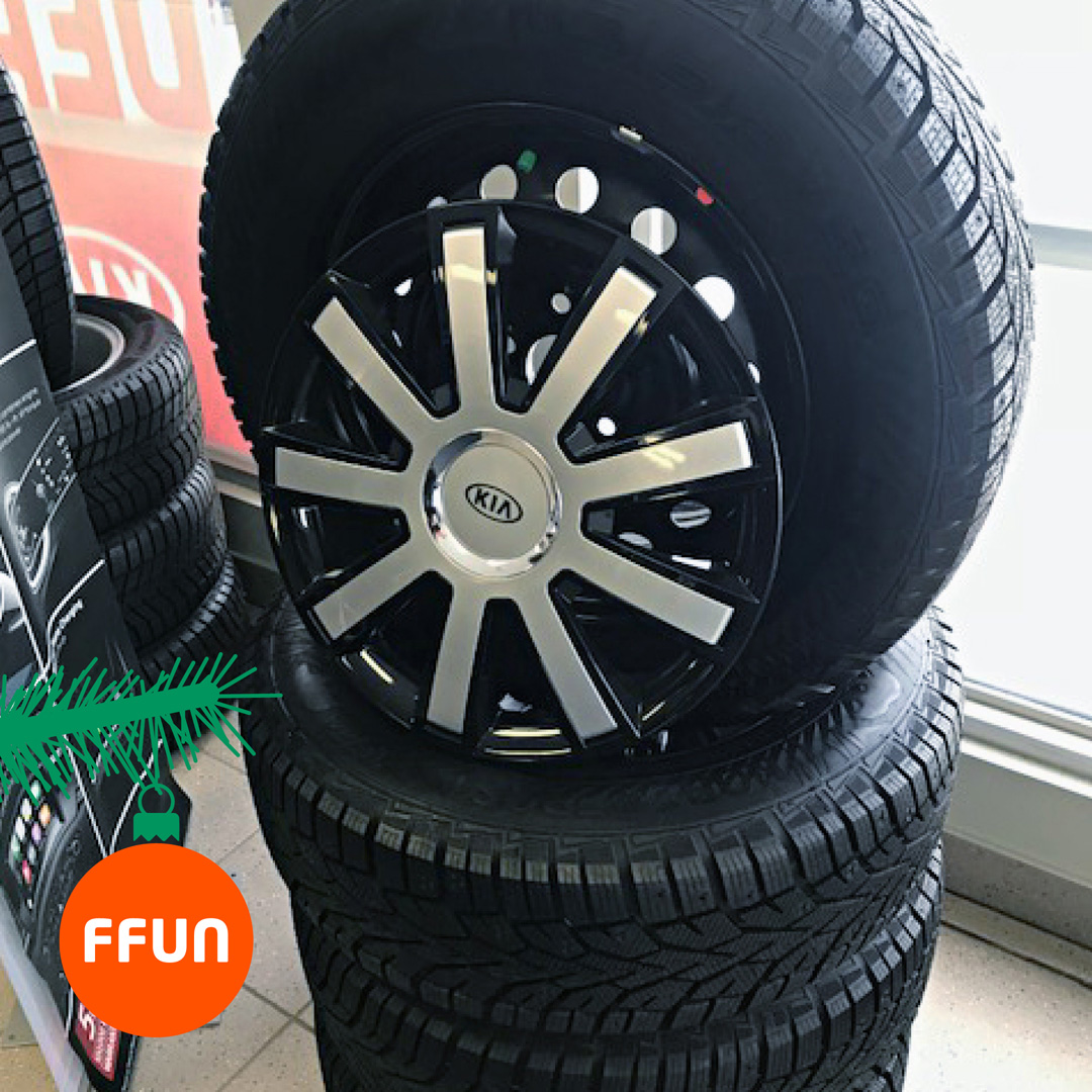 Set of Sorento Winter Tires