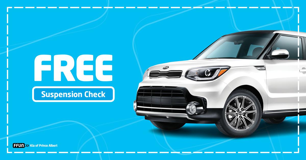 FREE Suspension, Steering & Brake Check