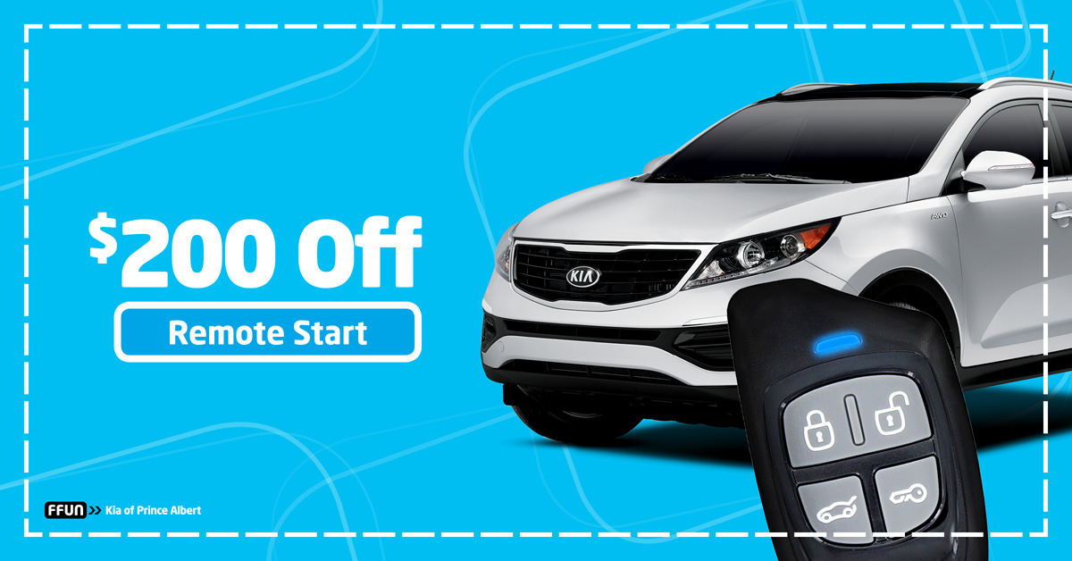 $200 Off Remote Start – 2014-2016 Sportage