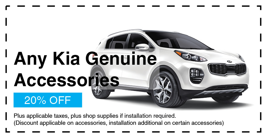 20% Kia Genuine Accessories